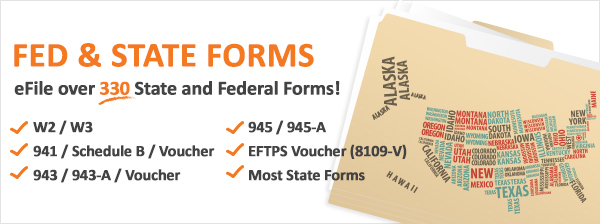 eFile Fed and State Forms