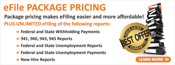 eFile Package Pricing